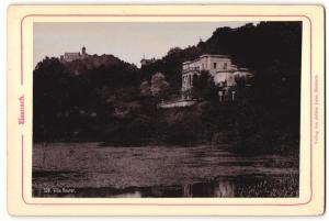 Fotografie Verlag von Arthur Laue, Eisenach, Ansicht Eisenach, Villa Reuter