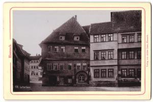Fotografie Verlag von Arthur Laue, Eisenach, Ansicht Eisenach, Lutherhaus