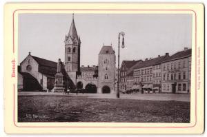 Fotografie Verlag von Arthur Laue, Eisenach, Ansicht Eisenach, Karlsplatz