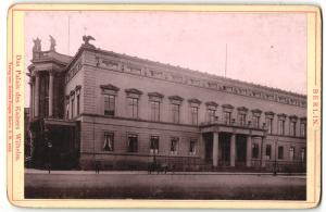 Fotografie Verlag von Robert Prager, Berlin, Ansicht Berlin, Palais des Kaisers Wilhelm