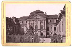 Fotografie Verlag von Robert Prager, Berlin, Ansicht Berlin, Palais des Reichskanzlers Fürst Bismarck