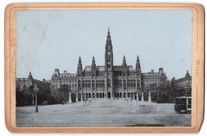 Fotografie Verlag Stengel & Co., Dresden, Ansicht Wien, Rathaus