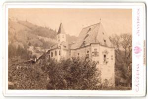 Fotografie C. A. Czichna, Innsbruck, Ansicht Innsbruck, Schloss Weiherburg