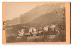 Fotografie unbekannter Fotograf, Ansicht Neuberg a/d Mürz, Panorama
