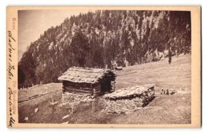 Fotografie Peter Moosbrugger, Meran, Ansicht Meran, Andreas Hofer-Hütte