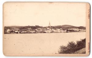 Fotografie H. Franze, Ybbs a/d D, Ansicht Ybbs a/d D, Panorama