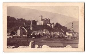 Fotografie unbekannter Fotograf, Ansicht Bruneck, Burg