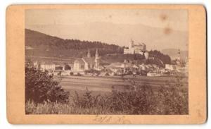 Fotografie A. Kofler, Bruneck, Ansicht Bruneck, Totale