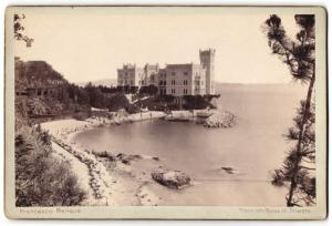 Fotografie Francesco Benque, Trieste, Ansicht Trieste, Miramar