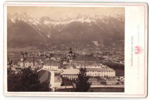 Fotografie C. A. Czichna, Innsbruck, Ansicht Innsbruck, Blick gegen Norden