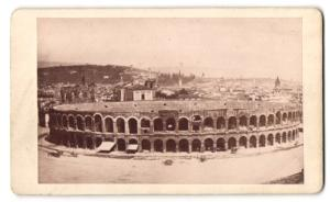 Fotografie unbekannter Fotograf, Ansicht Verona, Amphitheater