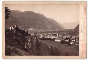Fotografie Jos. Gigler, Bozen, Ansicht Bruneck, Totale