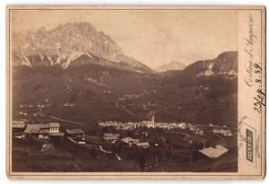 Fotografie Vicenzo Colli, Cortina d`Ampezzo, Ansicht Cortina d`Ampezzo