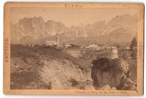 Fotografie Jos. Gugler, Bozen, Ansicht Cortina, Panorama