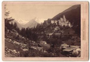 Fotografie J. Gugler, Bozen, Ansicht Schloss Taufers