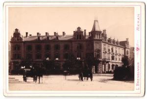 Fotografie L. Bresslmair, Meran, Ansicht Meran, Hotel Habsburger Hof