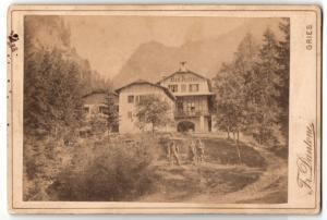 Fotografie Fr. Dantone, Gries, Ansicht Schlern, Bad Ratzes