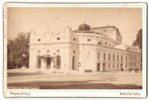 Fotografie Würthle & Sohn, Salzburg, Ansicht Salzburg, Stadt-Theater