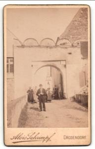 Fotografie Alois Schimpf, Drosendorf, Ansicht Drosendorf a/d Thaya, Torpartie