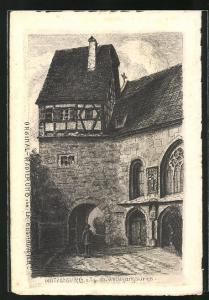 AK Rothenburg o. T., St. Wolfgangskirche