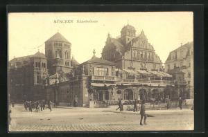 AK München, Künstlerhaus und Synagoge