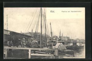 AK Kiel, Partie am Handelshafen