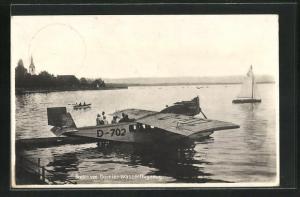 AK Bodensee Dornier-Wasserflugzeug