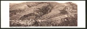 Klapp-AK Subiaco, Vista d`assieme dei Monasteri