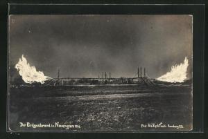 AK Hamburg-Neuengamme, Explosion