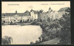AK Berlin-Charlottenburg, Lietzensee, Reichmilitärgericht
