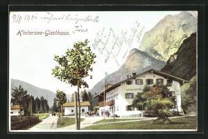 AK Berchtesgaden, Ansicht vom Hintersee Gasthaus