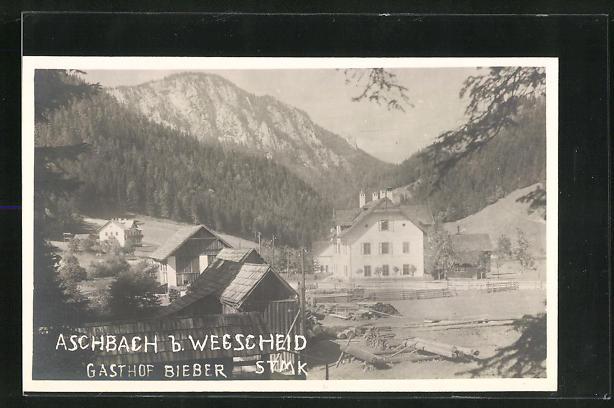 Bild zu AK Aschbach, Gast...