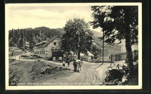 AK Mürzzuschlag, Leopold Taberhofer`s Gasthaus zum Touristen