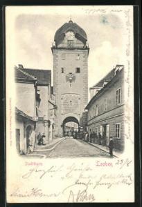 AK Leoben, Partie am Stadtturm