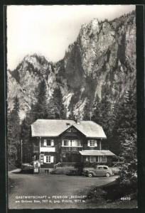 AK Tragöss, Gastwirtschaft und Pension Seehof am Grünen See