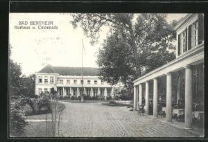 AK Bad Bentheim, Kurhaus u. Colonnade