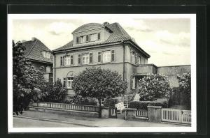 AK Bad Nenndorf, Hotel Haus Charlotte, Hindenburgstrasse 4