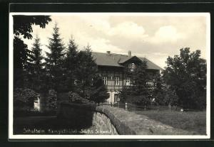 AK Kleingiesshübel / Sächs. Schweiz, Schulheim