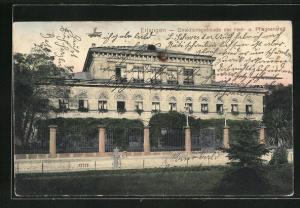 AK Erlangen, Direktionsgebäude der Heil- u. Pflegeanstalt