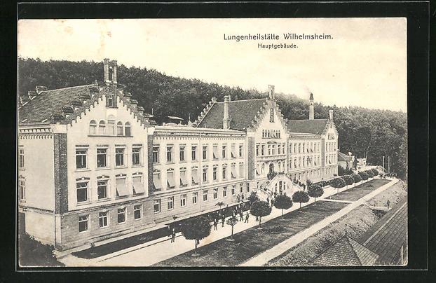 AK Wilhelmsheim, Lungenheilstätte, Hauptgebäude 0