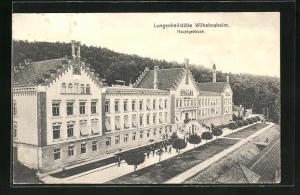 AK Wilhelmsheim, Lungenheilstätte, Hauptgebäude
