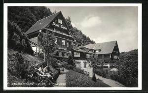 AK Wildberg / Schwarzwald, Kurhotel Haus Saron