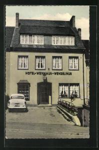 AK Koblenz-Pfaffendorf, Hotel-Weinhaus Wendelinus, Wendelinusstr. 24
