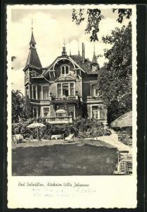 AK Bad Salzuflen, Kurheim Villa Johanna