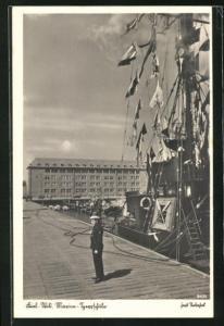 AK Kiel-Wik, Marine-Sperrschule, Matrose