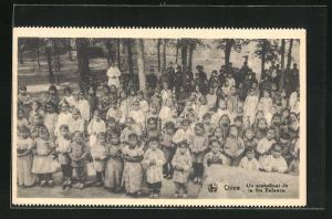 AK China, Kinder aus einem Waisenhaus, Un orphelinat de la Ste. Enfance