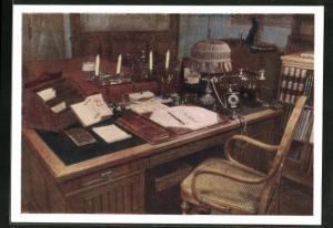 AK Moskau, Lenins Schreibtisch im Kreml