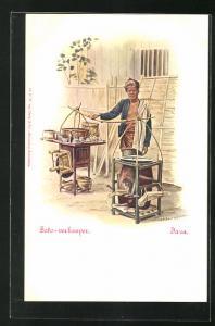 Künstler-AK Java, Soto-verkooper