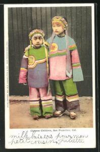 AK San Francisco, Chinese Children in costume