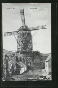 AK Zons a. Rh., Windmühle
